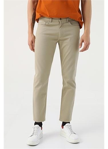 TWN Twn Slim Fit Taş Dokulu Chino Pantolon Yeşil